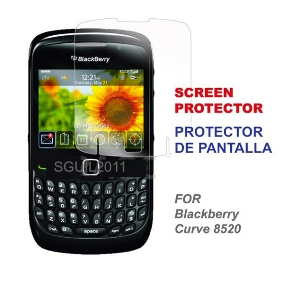 blackberry curve 8520 black screen red light